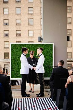 Sleek same-sex San Antonio, Texas wedding - Equally Wed, modern LGBTQ+ weddings + LGBTQ-inclusive wedding pros Lesbian Wedding, San Antonio, Maui, Rabbit, Texas, Wedding Photography, Weddings, Bunny, Rabbits
