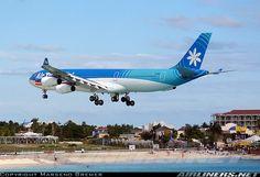 Air Tahiti Nui at SXM