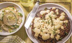 Mozzarella-Burger - Rezepte - Schweizer Milch Mozzarella, Hot Dogs, Risotto, Potato Salad, Mashed Potatoes, Bbq, Sandwiches, Burgers, Ethnic Recipes