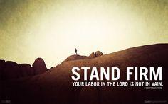 #Scripture                         1 Corinthians 15:58