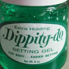 Was Dippity Do A Common Item In The Bathroom Growing Up? Are You Old Enough To Remember Dippity Do?