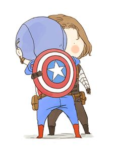 Steve and Bucky Marvel Art, Marvel Avengers, Marvel Comics, Sebastian Stan, Marvel Universe, Captain America And Bucky, Bucky And Steve, Wattpad, Marvel Memes