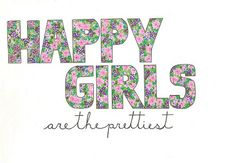 And this is why I love being happy :) We are always prettier than the bitter gossips :)
