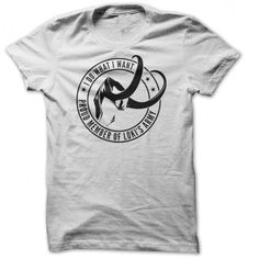 Member of lokis army t-shirt by Clique Wear