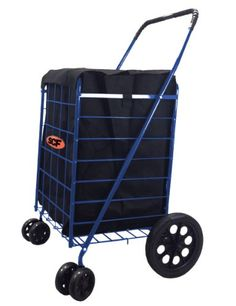 Shop for SCF Black Extra-large Heavy-duty Black Folding Utility Cart/Rolling Storage Shopping Carrier with Bonus Liner. Get free delivery On EVERYTHING* Overstock - Your Online Kitchen & Dining Shop! Bush Office Furniture, Commercial Office Furniture, Folding Shopping Cart, Shopping Carts, Laundry Cart, Laundry Storage, Rolling Storage, Cat Stands, Moving Gifts