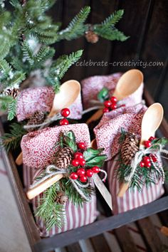 DIY cookie mix gift sack