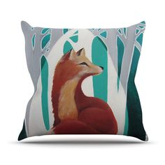 Features:  -Fox Forest collection.  -Material: Fabric woven polyester.  -Closure…