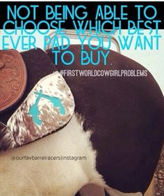 Cowgirl Problems, Best Ever Pads, Custom Saddle Pads, Saddle Pads, Horse Tack, Western Tack, Tack