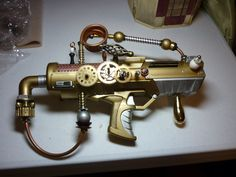Another cool revamped steampunk water gun.
