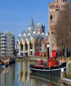 Old-Port-Of-Rotterdam, Netherlands