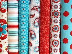 oh the things I could make with these...if only I knew how to sew.