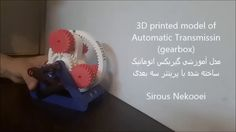3D printed Model of Automatic Transmission