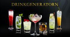 Hitta din egen favoritdrink med Drinkgeneratorn. 100-tals drinkrecept på allt ifrån eleganta klassiker till fruktiga cocktails. Enjoy!