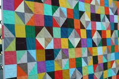 Sparkling Diamonds quilt - FMQ detail 2 by Don't Call Me Betsy, via Flickr