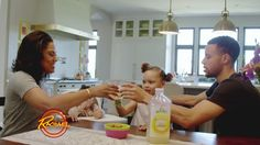 """Ayesha Curry, her Warriors star husband Steph Curry, and their daughter Riley showed off their dream kitchen during an episode of """"The Rachael Ray Show"""" on ABC7."""
