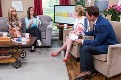 Home & Family's,  Jeanette Pavini offers up some wedding budget tips for the viewers at home and the bride-to-be, Paige Hemmis.
