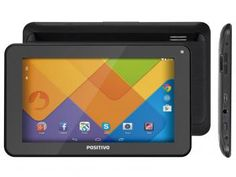 "Tablet Positivo Stilo T725 8GB 7"" Wi-Fi Android - 5.1 Proc. Quad Core Câmera Integrada"
