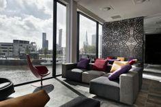 Het luxe 5-sterrenhotel Mainport Design Hotel ligt aan de oever van de Maas in het centrum van Rotterdam en biedt gratis WiFi en gratis toegang tot de Spa...