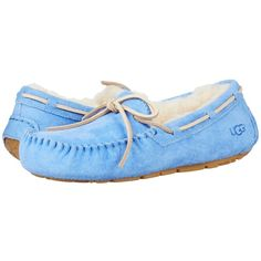392e8327d340ae UGG Dakota (Regatta) Women s Slippers ( 100) ❤ liked on Polyvore featuring  shoes and slippers