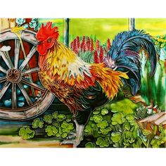 """11""""x14"""" Rooster"""