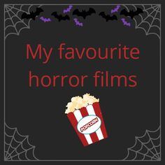 A list of my all-time favourite horror films guaranteed to give you the spooks 🎃