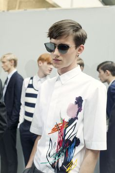 Dior Homme SS15 Dior Composit 1.0 sunglasses
