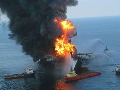 Deepwater Horizon disaster (photo: US Coast Guard)