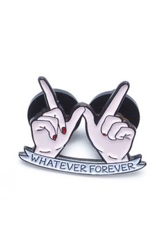 A pin that's just so interested in whatever anyone has to say.