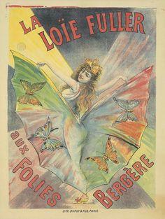 La Loïe Fuller aux Folies Bergère. ca. 1892.