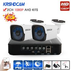 Cheap video surveillance kit, Buy Quality surveillance kit directly from China cctv system Suppliers: KRSHDCAM AHD DVR Security CCTV System IR CCTV Camera Outdoor Waterproof Camera Home Video Surveillance Kit Video Surveillance Cameras, Surveillance System, Dvr Security System, Dvr Cctv, Home Cctv, Waterproof Camera, Security Cameras For Home, Kit, Hd 1080p