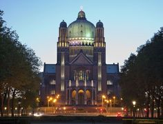 BASILICA OF THE SACRED HEART, BELGIUM It is situated in Brussels and was constructed between 1905 and 1970.