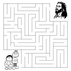 The Great Commission Maze - Sermons4Kids.com