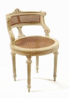 Maison de Kristine - Lisette Creme Stool Cane Style, $590.00 (http://www.maisondekristine.com/lisette-creme-stool-cane-style/)