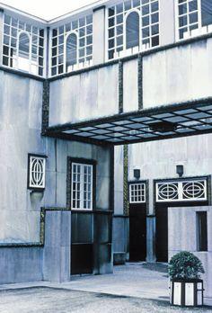 Stoclet House by Josef Hoffmann in Brussels, Belgium.