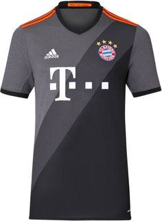The new Bayern München 16-17 away kit introduces a striking design d37f94605