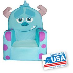 Marshmallow Monsters University Sulley Character Chair