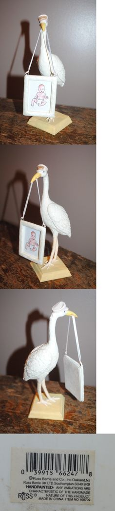 Keepsakes and Baby Announcements 117388: Russ Baby Expressions Of Love 8 Delivery Stork Newborn 1.75X2.5 Picture Frame -> BUY IT NOW ONLY: $32.99 on eBay!