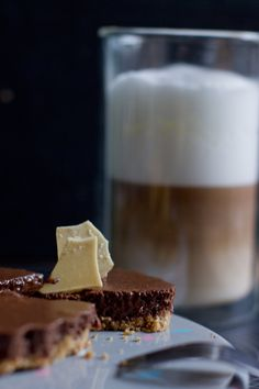 No bake mousse au chocolat and coffee cake. | LOOK WHAT I MADE ...