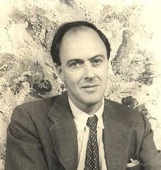 """Roald Dahl (1916 - 1990) Author of """"Charlie and the Chocolate Factory"""" and """"James and the Giant Peach"""" among many books"""