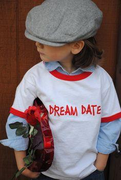DREAM DATE tshirt by Onceuponastory on Etsy, $12.00