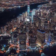 Manhattan New York Empire State Building, Manhattan New York, Photographie New York, New York City, Places To Travel, Places To Visit, Ellis Island, City Wallpaper, Yankee Stadium