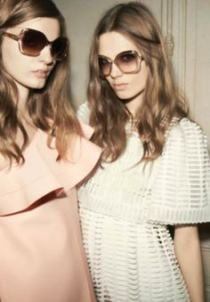 aadacdc2c4c8 Glen Luchford for Chloé Sunglasses Spring Summer 2013