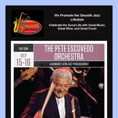 Pete Escovedo Orchestra at Yoshi's Oakland, CA on July 15-16, 2017