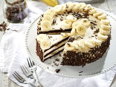 Banánkrémes torta közkívánatra! | Nők Lapja Sweet Recipes, Cake Recipes, Hungarian Recipes, Cookie Cups, Cakes And More, Cake Cookies, Oreo, Tart, Cheesecake