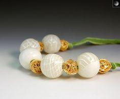 Transparent Hollow Beads