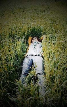 Country field...relaxing!!!  Photo taken from Tumblr.