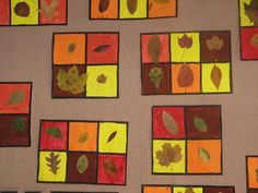 this idea for a fall science bulletin board. Fall Arts And Crafts, Autumn Crafts, Autumn Art, Nature Crafts, Autumn Theme, Kindergarten Art Projects, Classroom Art Projects, School Art Projects, Tree Study