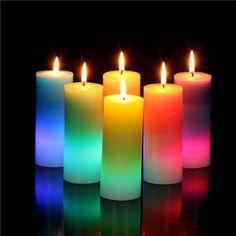Reta ledli mum candles led inside