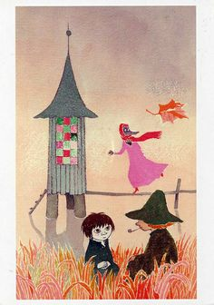 Moominvalley in November by Tove Jansson. My favourite Moomin book - although I love them all! Portrait Illustration, Children's Book Illustration, Moomin Books, Tove Jansson, Sketch Inspiration, Artist Art, Cover Art, Art Drawings, Retro