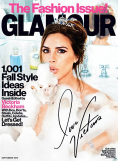 Our September cover featuring the fabulous Victoria Beckham!